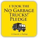 The No Garbage Trucks Pledge